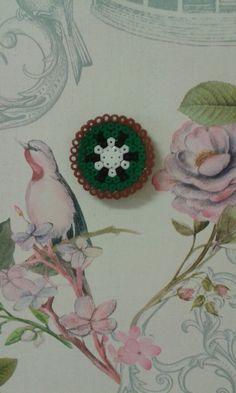 #Kiwi #Hama #Beads