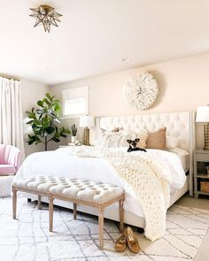 DIY All White Wagon in 5 Easy Steps   Just A Tina Bit Two Bedroom, Bedroom Inspo, Master Bedroom, Raised Kitchen Island, Two Couches, Wall Entertainment Center, Ikea Billy Bookcase Hack, Small Condo, Condo Remodel
