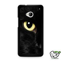 Black Cat Eye HTC G21,HTC ONE X,HTC ONE S,HTC M7,M8,M8 Mini,M9,M9 Plus,HTC Desire Case