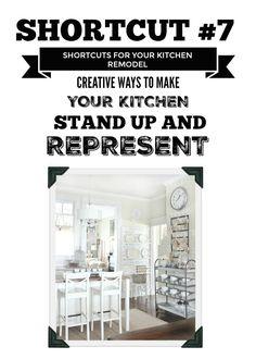 14-Day Decorating Shortcut Challenge: Budget Kitchen Remodeling