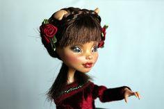 https://flic.kr/p/UQpLMA | Rosemary - custom OOAK Monster High Doll repaint | www.etsy.com/uk/listing/520826468/rosemary-custom-ooak-mo...