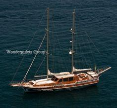 Luxury wg ip 002 gulet charter Greece Italy 24meters