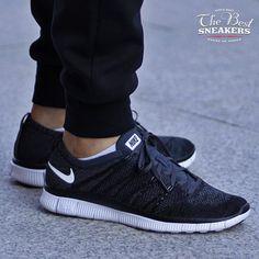 """Nike Free Flyknit NSW """"Black (599459-001)"""