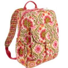 Vera Bradley bookbag! perfect for a hardworking college girl ;)