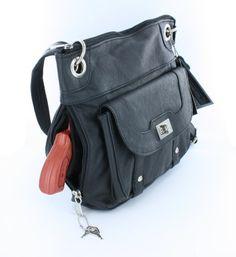 Premium Leather Crossbody Style Locking Concealment Purse - CCW Concealed Carry Gun - Wire Reinforced Strap (Black) Roma F.C.,http://www.amazon.com/dp/B00B2AQFO2/ref=cm_sw_r_pi_dp_oPZptb0FX17TQ78B