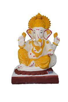 """Ganesha on """"Kamal""""  Height 14""""  MRP: Rs 1400"""