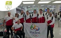 Paralympic Games - Team Belgium | Rio 2016 - Met Michelle Franssen, Maarten Libin, Sven Decaesstecker, Kris Bosmans, Allaerts Benjamin, Yannick Vandeput en Ignace Clarysse.