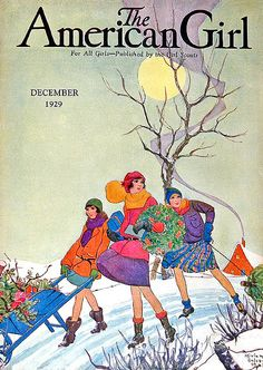 American Girl Flapper and Cottage Cover