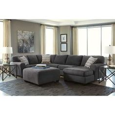Signature Design By Ashley Maier Sectional Transportation