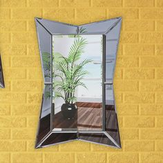 Artistic Products Breeze Point Wall Mirror Size:
