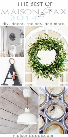 So many fabulous diy projects and ideas!