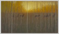 """""""The Feeling of Autumn"""" by David Grossmann, Juried Artist at the 2014 Crested Butte Plein Air Invitational"""