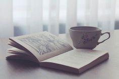 un buen cafe y un libro... que mas puedes pedir?
