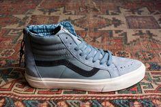 "Vans ""Leather Nubuck"" Sk8-Hi Zip CA (Autumn 2015) - EU Kicks: Sneaker Magazine"