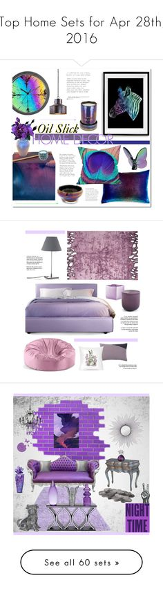 """Top Home Sets for Apr 28th, 2016"" by polyvore ❤ liked on Polyvore featuring interior, interiors, interior design, home, home decor, interior decorating, Kevin O'Brien, Tom Dixon, Baccarat and Opaline"
