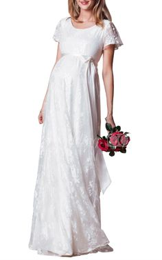 Inexpensive Empire Lace Wedding Dress With Sleeves and Scoop Neckline, Shop DorisWedding.com collection of unique wedding dresses perfect for any brides 2016. #DorisWedding.com