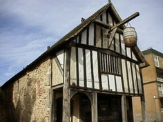 Medieval Houses | The Dolphin Hotel in Southampton: Where Jane Austen Danced | Jane ...