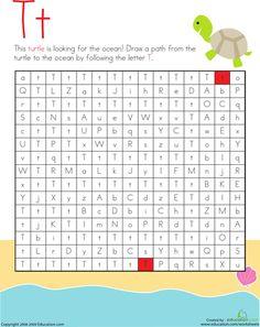 Building Block 2: Lowercase Letters | Education.com