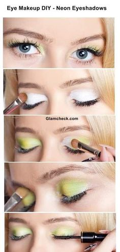 check how to apply Neon Eye makeup !!
