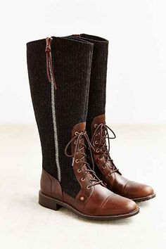 Woolrich Roadhouse Stripe Tall Boot
