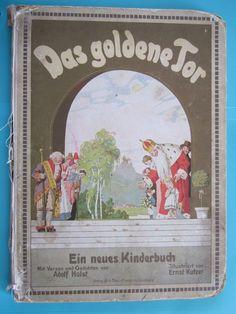 Das goldene Tor, Verse Adolf Holst, Bilder Ernst Kutzer, Steinkamp 1913   eBay Verse, Books, Ebay, Art, Writing Fonts, Stones, Kids, Nice Asses, Art Background