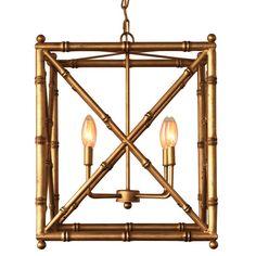 Scalamandre Maison Baldwin Gold Chandelier