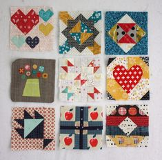 The Splendid Sampler - Free Quilt Block Patterns - Diary of a Quilter - a quilt blog