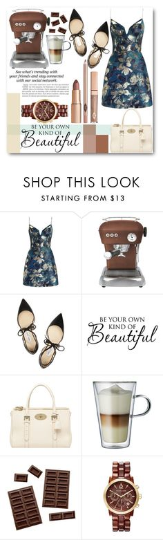 Dear Chocolate!!! by tween-weekly on Polyvore featuring Zimmermann, Jimmy Choo, Mulberry, Michael Kors, Ascaso, Bodum and Erdem