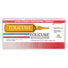 Folicure Formula for Fine or Thinning Hair by Folicure. $18.99. Panthenol thickens thin, fine hair; Contains the essential Vitamins and Biotin; Strengthens brittle, weak hair. The dual action formula of Folicure cleanses and stimulates the scalp while thickening and moisturizing each strand of hair.
