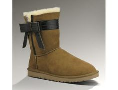 2013 New - UGG Australia Women Boots Josette CHESTNUT 1003174