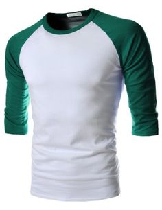 (VS71) TheLees Mens Casual Slim Fit 2 Tone Round Neck 3/4 Sleeve Tshirts WHITECYAN US XS(Tag size L) TheLees http://www.amazon.com/dp/B00E5IRO5W/ref=cm_sw_r_pi_dp_h.0.wb1NCQCSW