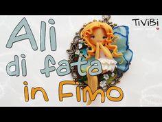Come creare una fata con le ali su cameo - How to create a fairy on an altered cammeo - YouTube