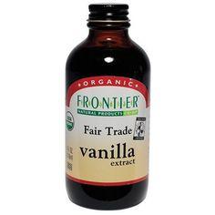 Frontier Vanilla Extract Fair Trade Certified & Organic, 4-Ounce Bottles (Pack of 3) Frontier http://www.amazon.com/dp/B001ELL26A/ref=cm_sw_r_pi_dp_zOeRvb02P62FZ