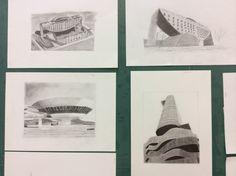 Arquitetura em desenhos.