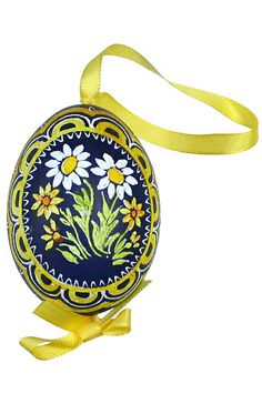 Made in Slovakia ~ hand painted chicken egg