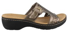 online shopping for CLARKS Women's Hayla Samoa Wedge Sandal from top store. See new offer for CLARKS Women's Hayla Samoa Wedge Sandal Slide Sandals, Wedge Sandals, Shoes Sandals, Top Shoes, Clarks Sandals, 2 Inch Heels, Snug Fit, Fashion Shoes, Just For You