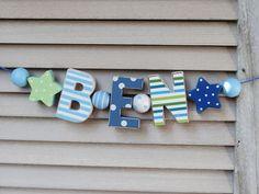 Die besten 25 holzbuchstaben deko ideen auf pinterest for Holzbuchstaben babyzimmer