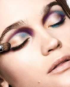 These Makeup Looks Are The Total Opposite Of Boring #refinery29  http://www.refinery29.com/edgy-spring-beauty-trends