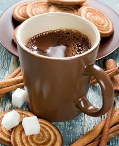 Little of coffee and treats! Was at church but had to leave early wasn't feeling well went home any rested a few hours feeling a lot better. Coffee Cafe, My Coffee, Coffee Drinks, Coffee Barista, Espresso Coffee, Coffee Break, Morning Coffee, Chocolate Cafe, Pause Café