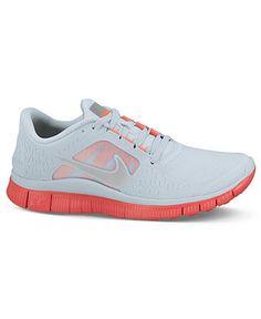Nike Women's Shoes, Free Run + 3 Shield Sneakers - Shoes - Macy's