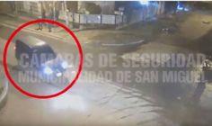 Desbaratan un foco de narcomenudeo gracias a las cámaras del Municipio de San Miguel