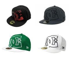 2976dd39078b2 Dc Shoes Mens Coverage II New Era 59Fifty Hat with Flat Brim NWT