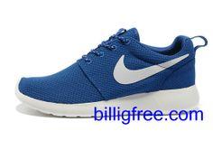 Verkaufen billig Schuhe Damen Nike Roshe Run (Farbe: vamp, innen - blau, Logo, Sohle - weiB) Online in Deutschland.