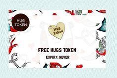 Hug Token Gift for Boyfriend Gift for Girlfriend I Love