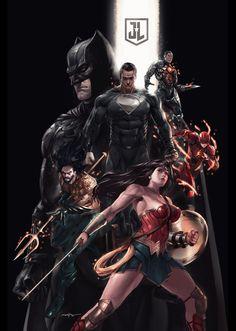 Zack Snyder Justice League, Justice League 1, Batman Universe, Dc Universe, Punisher Comics, Daredevil Punisher, Comic Book Layout, Dc Anime, Superman Family