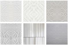 origami inspired wallpaper from sidonie - love this so subtle and pretty