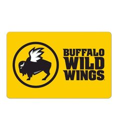 Buffalo Wild Wings is headquartered in Ohio, United States. The American sports bar franchise and casual dining restaurant is well known for its Buffalo wings and sauces Wings Card, Gift Card Sale, Gift Cards, Boneless Wings, Giant Eagle, Buffalo Wild Wings, New Video Games, Wings Logo, Logos