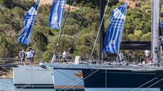 Video, photos and a report of Race Day One at the Loro Piana Superyacht Regatta 2016 in Porto Cervo