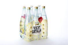 Pack de seis botellas vichy Catalán 1,2l PET. Un formato más resistente, pero ligero para que te lo lleves donde quieras.