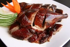 How to Roast a Duck - Chinese Asian Recipe - Easy Ethnic Recipes Chinese Roast Duck, Chinese Food, Roasted Duck Recipes, Chinese Chicken Wings, Cooking Time, Cooking Recipes, Almond Chicken, Braised Chicken, Food Staples